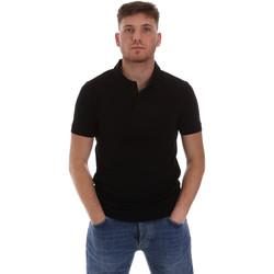 Textil Homem Polos mangas curta Sseinse ME1517SS Preto