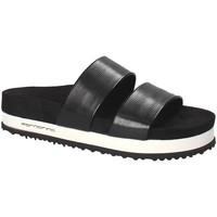 Sapatos Mulher Chinelos Fornarina PE18SA2913 Preto