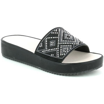 Sapatos Mulher Chinelos Grunland CI1287 Preto