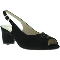 Sapatos Mulher Sandálias Melluso S615 Preto