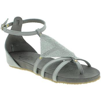 Sapatos Mulher Sandálias 18+ 6108 Cinzento