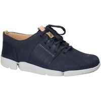 Sapatos Mulher Sapatilhas Clarks 131797 Azul