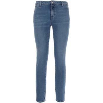 Textil Mulher Calças de ganga slim NeroGiardini P860221D Azul
