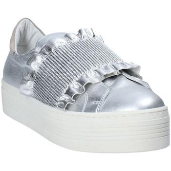 Sapatos Mulher Slip on Mally 6174 Cinzento