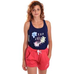 Textil Mulher Todos os fatos de treino Key Up 5K78A 0001 Azul