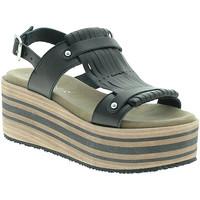 Sapatos Mulher Sandálias Pregunta IBH5804 Preto