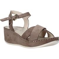 Sapatos Mulher Sandálias Lumberjack SW83606 001 D01 Castanho