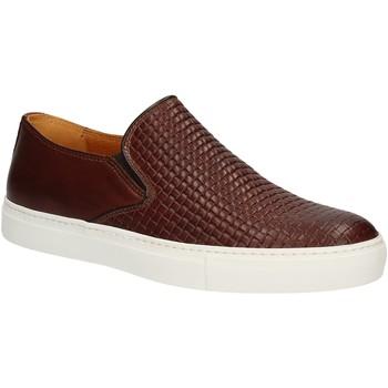 Sapatos Homem Slip on Rogers 2236B Castanho