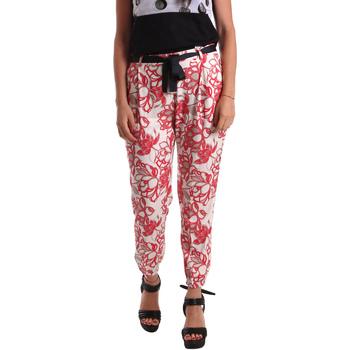Textil Mulher Chinos Café Noir JP244 Vermelho