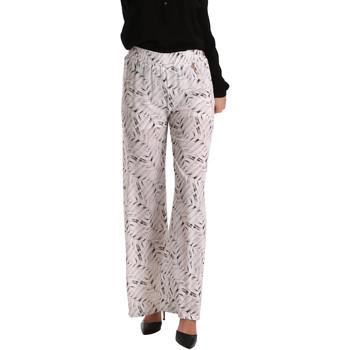 Textil Mulher Calças finas / Sarouels Gaudi 73BD25224 Branco