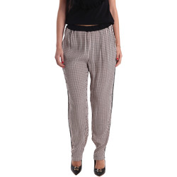 Textil Mulher Calças finas / Sarouels Gaudi 73FD25238 Preto