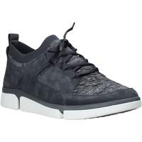 Sapatos Homem Sapatilhas Clarks 26142075 Azul