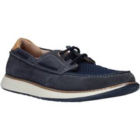 Sapatos Homem Sapato de vela Clarks 26140957 Azul