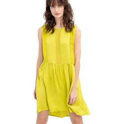 Textil Mulher Vestidos curtos Fracomina FR20SM545 Amarelo
