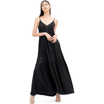 Textil Mulher Vestidos compridos Fracomina FR20SM546 Preto