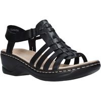 Sapatos Mulher Sandálias Clarks 26139748 Preto