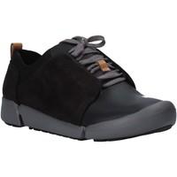 Sapatos Mulher Sapatilhas Clarks 26128213 Preto