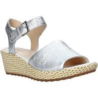 Sapatos Mulher Sandálias Clarks 26142966 Prata