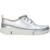 Sapatos Mulher Sapatilhas Clarks 26138898 Prata
