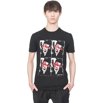 Textil Homem T-Shirt mangas curtas Antony Morato MMKS01743 FA120001 Preto