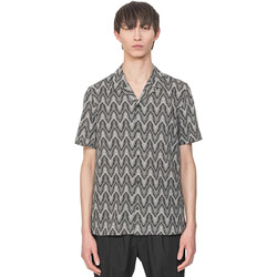 Textil Homem Camisas mangas curtas Antony Morato MMSS00156 FA430413 Bege