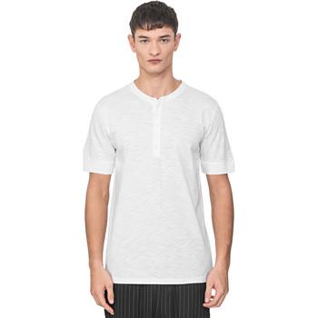 Textil Homem T-Shirt mangas curtas Antony Morato MMKS01725 FA100139 Branco