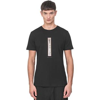 Textil Homem T-Shirt mangas curtas Antony Morato MMKS01766 FA100144 Preto