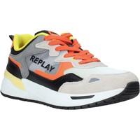 Sapatos Homem Sapatilhas Replay GMS2L 240 C0001T Laranja
