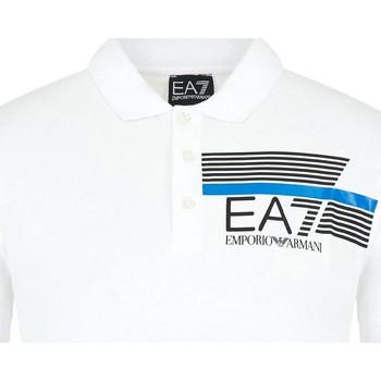 Textil Homem Polos mangas curta Ea7 Emporio Armani 3HPF17 PJ02Z Branco