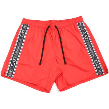 Textil Homem Fatos e shorts de banho Ea7 Emporio Armani 902000 0P734 Vermelho
