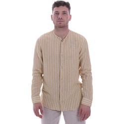 Textil Homem Camisas mangas comprida Sseinse CE534SS Bege