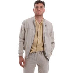 Textil Homem Jaquetas Sseinse GBE575SS Bege