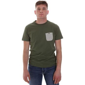 Textil Homem T-Shirt mangas curtas Sseinse ME1588SS Verde