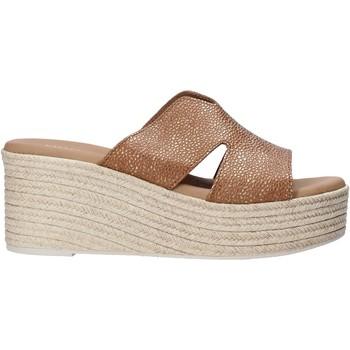 Sapatos Mulher Chinelos Valleverde 34270 Castanho