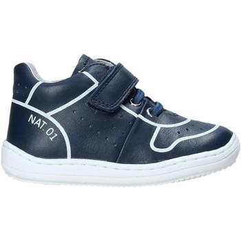 Sapatos Criança Sapatilhas de cano-alto Naturino 2013463 01 Azul