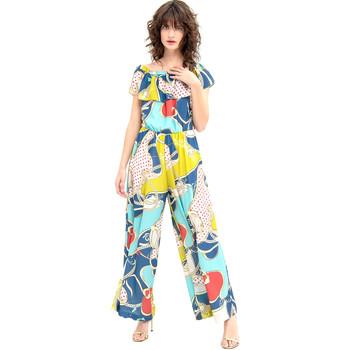 Textil Mulher Macacões/ Jardineiras Fracomina FR20SM032 Azul