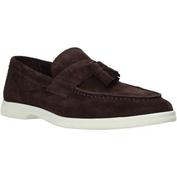 Sapatos Homem Mocassins Marco Ferretti 161427MF Castanho