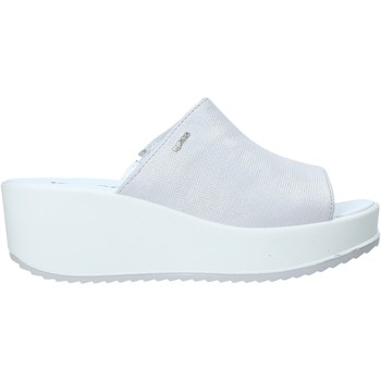 Sapatos Mulher Chinelos IgI&CO 5178511 Prata