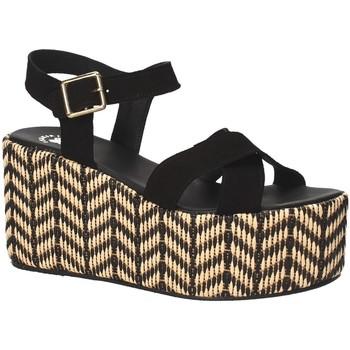Sapatos Mulher Sandálias Exé Shoes G41007047004 Preto