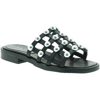 Sapatos Mulher Chinelos Mally 6141 Preto