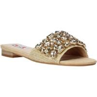 Sapatos Mulher Chinelos Love To Love ALE 1177 Castanho