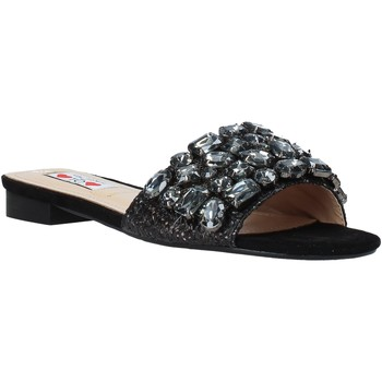 Sapatos Mulher Chinelos Love To Love ALE 183 Preto