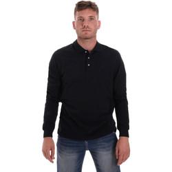 Textil Homem Polos mangas compridas Navigare NV82109 Azul