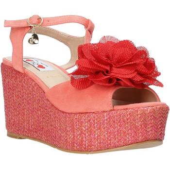 Sapatos Mulher Sandálias Love To Love GIN5106 Vermelho