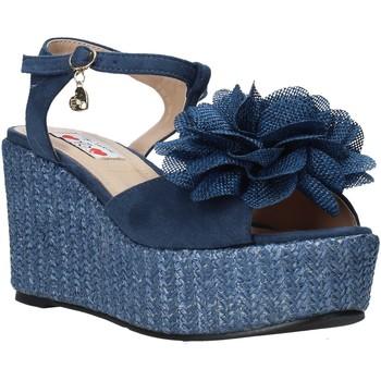 Sapatos Mulher Sandálias Love To Love GIN579 Azul