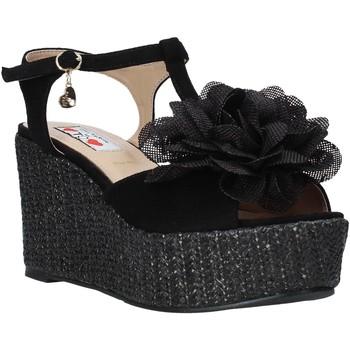 Sapatos Mulher Sandálias Love To Love GIN583 Preto