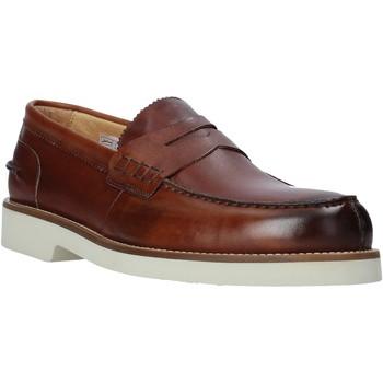Sapatos Homem Mocassins Exton 2102 Castanho