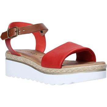 Sapatos Mulher Sandálias Jeiday 1278-9696 Vermelho