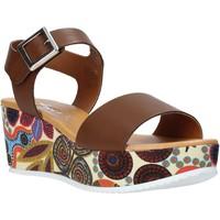 Sapatos Mulher Sandálias Grace Shoes 03 Castanho