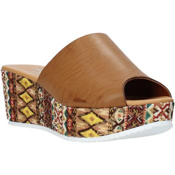Sapatos Mulher Chinelos Grace Shoes 10 Castanho